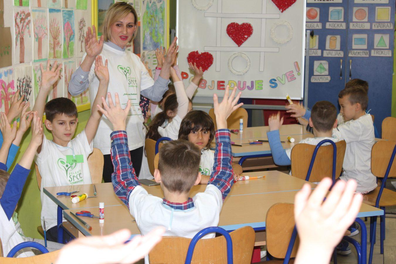 Zeleno srce - radionica za školarce (2)