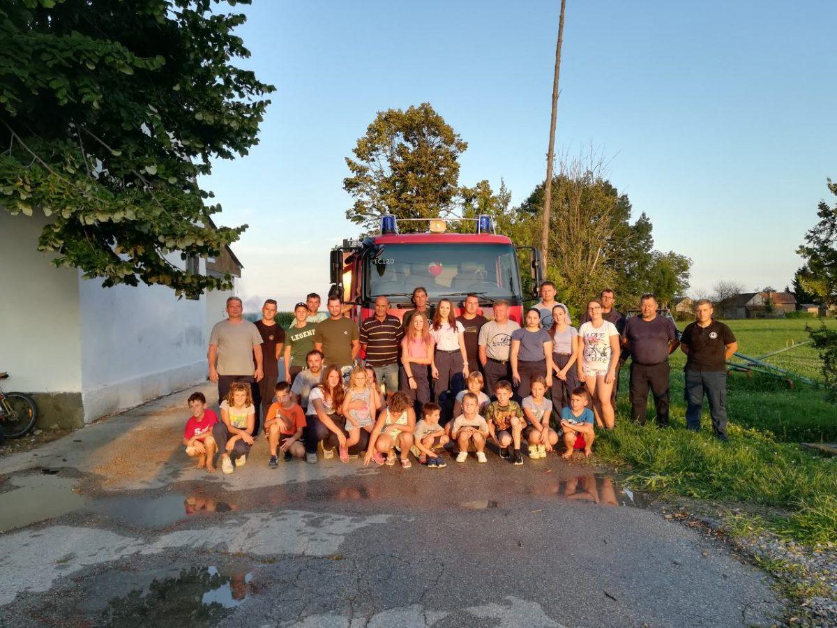 Vatrogasna vježba Starogradački Marof (1)