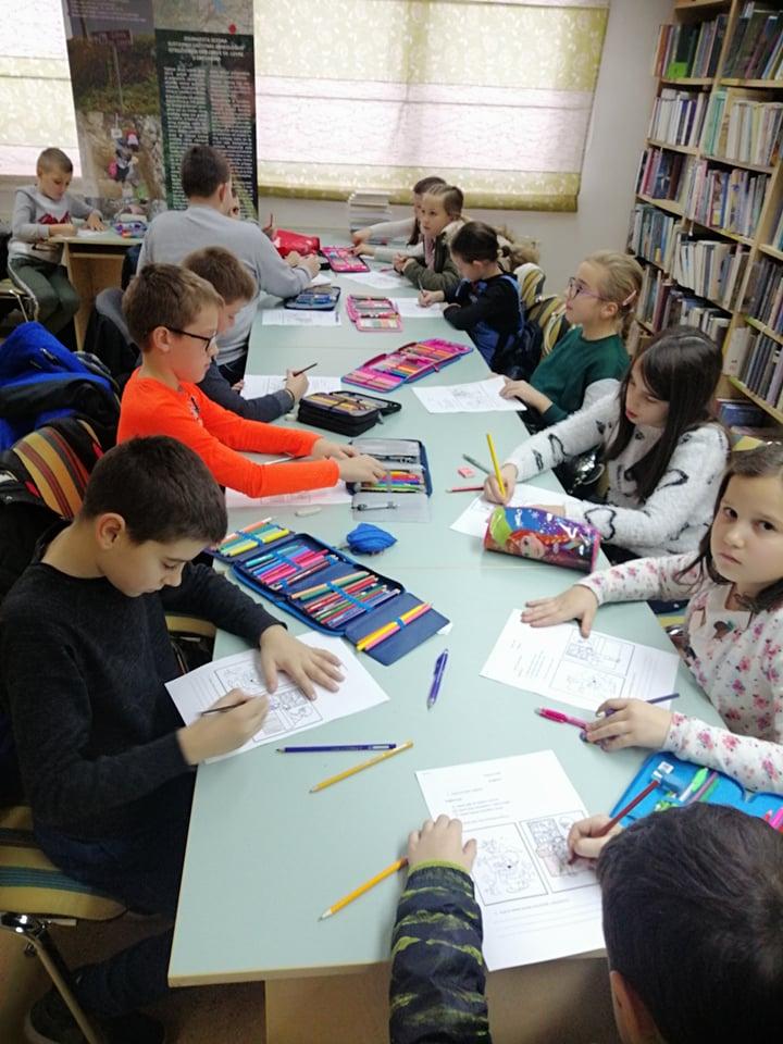 učenici područnih škola u posjetu knjižnici (3)